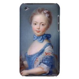 Jean-Baptiste Perronneau: Girl with Kitten Barely There iPod Case