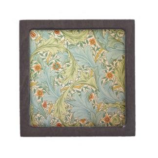 Jean-Baptiste Réveillon Style Antique Wallpaper Jewelry Box