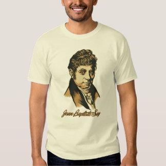 Jean-Baptiste Say personalizó la camiseta de la Poleras