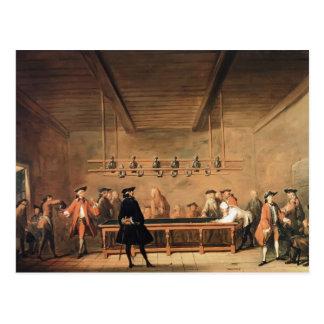 Jean-Baptiste-Simeon Chardin- A Game of Billiards Postcard