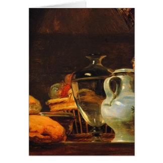 Jean-Baptiste-Simeon Chardin - Still life Card