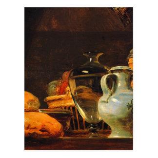 Jean-Baptiste-Simeon Chardin - Still life Postcard