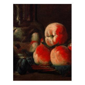 Jean-Baptiste-Simeon Chardin - Still life with tin Postcard