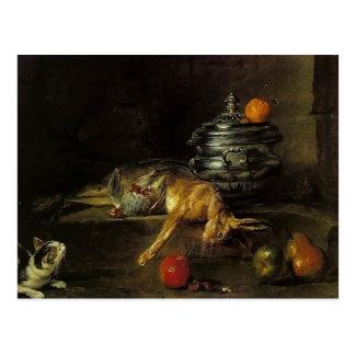 Jean-Baptiste-Simeon Chardin- The Silver Tureen Postcard
