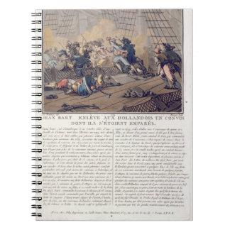 Jean Bart (1651-1702), French naval commander taki Notebook
