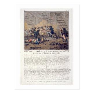 Jean Bart (1651-1702), French naval commander taki Postcard