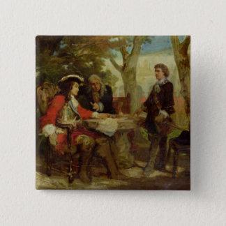 Jean Cavalier  and Claude Louis Hector Pinback Button