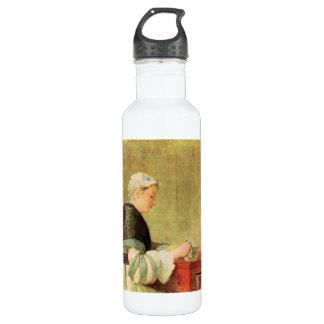 Jean Chardin - bebedor del té