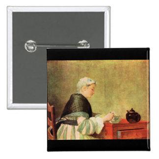 Jean Chardin - bebedor del té Pin