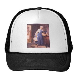 Jean Chardin - el pan Gorros
