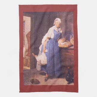 Jean Chardin - el pan Toallas