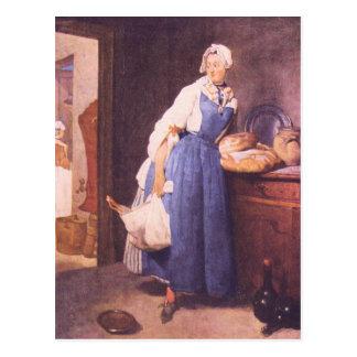 Jean Chardin - el pan Postal