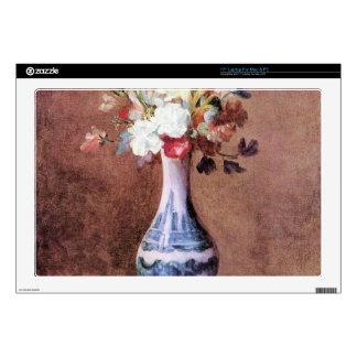 Jean Chardin - Flowers in a Vase Laptop Skin