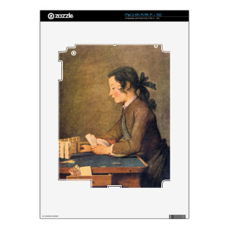 Jean Chardin - House of Cards Decal For iPad 2