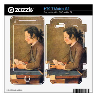 Jean Chardin - House of Cards Decal For HTC T-Mobile G2