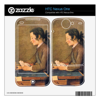 Jean Chardin - House of Cards Decal For HTC Nexus One