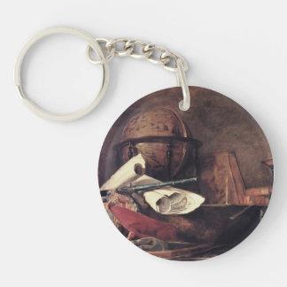 Jean Chardin- las cualidades de las ciencias Llavero