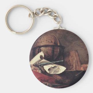 Jean Chardin- las cualidades de las ciencias Llaveros