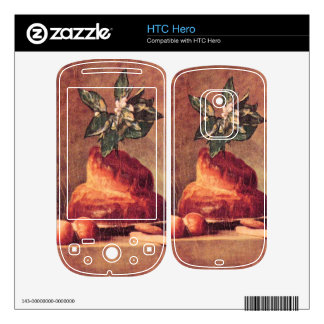 Jean Chardin - Still Life with Brioche Decal For The HTC Hero