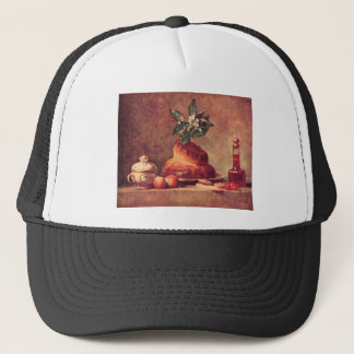 Jean Chardin - Still Life with Brioche Trucker Hat