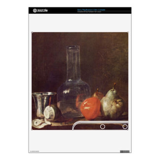 Jean Chardin - Still Life with Glass and fruits Skins For The PS3 Slim