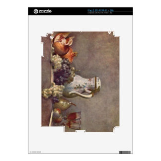Jean Chardin - Still life with porcelain jug Decal For The iPad 2
