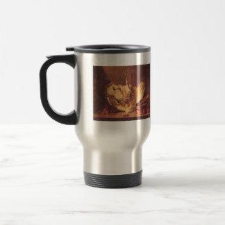 Jean Chardin - Still Life with turkey 15 Oz Stainless Steel Travel Mug