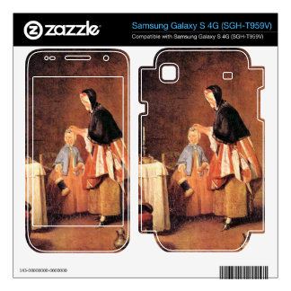 Jean Chardin - The morning toilet Samsung Galaxy S 4G Skins