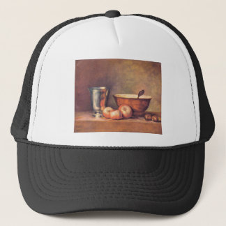 Jean Chardin - The silver cup Trucker Hat