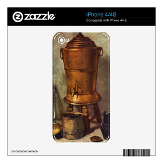 Jean Chardin - The water tank Skin For The iPhone 4