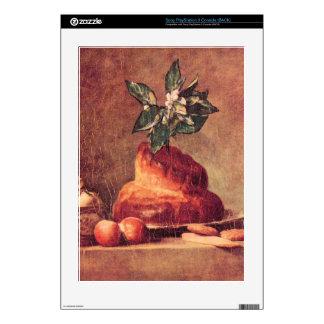Jean Chardin - todavía vida con el bollo de leche Calcomanía Para Consola PS3