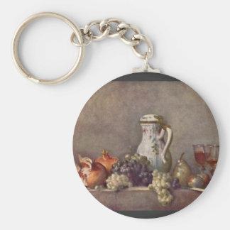Jean Chardin - todavía vida con el jarro de la por Llaveros