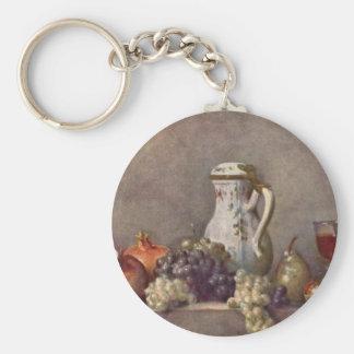Jean Chardin - todavía vida con el jarro de la por Llaveros Personalizados