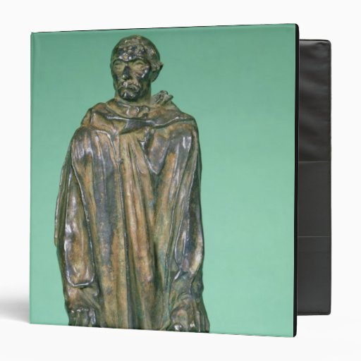 Jean d'Aire, from the Burghers of Calais (bronze) 3 Ring Binders