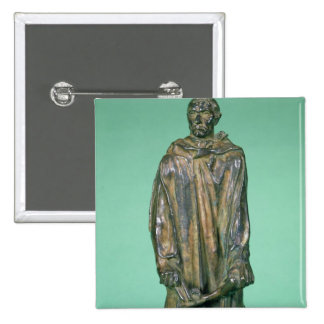 Jean d'Aire, from the Burghers of Calais (bronze) Button