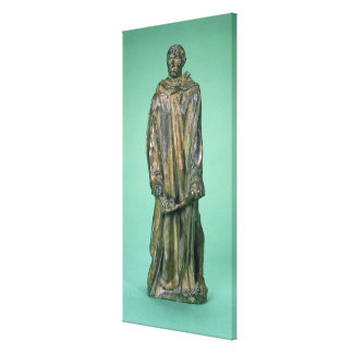 Jean d'Aire, from the Burghers of Calais (bronze) Canvas Print