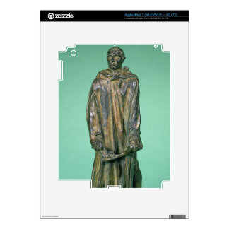 Jean d'Aire, from the Burghers of Calais (bronze) Decal For iPad 3