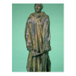 Jean d'Aire, from the Burghers of Calais (bronze) Postcard