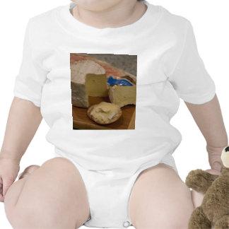 Jean De Brie Cheese Baby Bodysuits