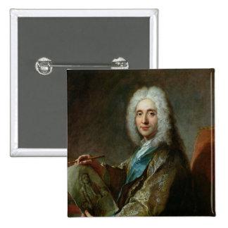 Jean de Jullienne  1722 2 Inch Square Button