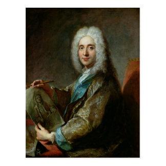 Jean de Jullienne  1722 Postcard