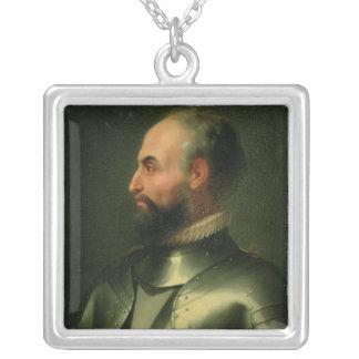 Jean de la Valette Collar Plateado