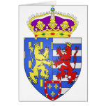 Jean de Luxembourg , Netherlands Greeting Card