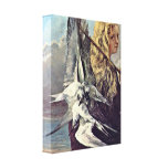 Jean Desire Gustave Courbet - Girl with a seagull Gallery Wrap Canvas