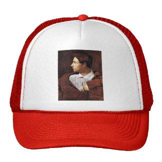 Jean Dominique Ingres- Jean Baptiste Desdeban Trucker Hat