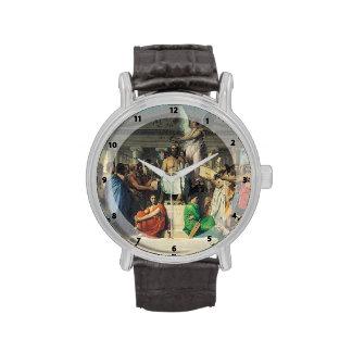 Jean Dominique Ingres- la apoteosis del home run Reloj De Mano