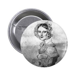 Jean Dominique Ingres-Madame Eugène Viollet le Duc Pinback Buttons