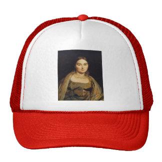 Jean Dominique Ingres- Portrait of Madame Ingres Trucker Hat