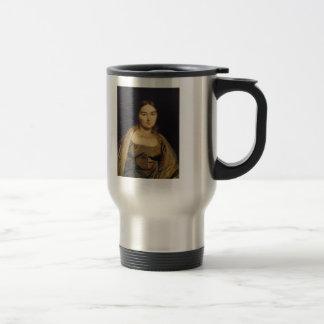 Jean Dominique Ingres- Portrait of Madame Ingres Coffee Mug