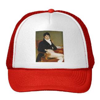 Jean Dominique Ingres-Portrait of Monsieur Rivière Trucker Hat